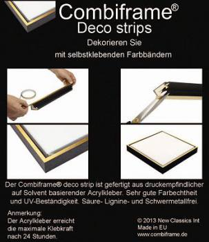 Combiframe® Deco Strip Gold(5 mm) -