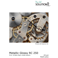 Drylab Papier - Solution Metallic Glossy RC 250gsm