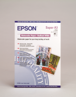 Epson WaterColor Paper - Radiant White - A3+- 20 Blatt