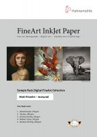 Hahnemühle Fine Art Matt textured Sample pack