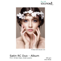 Solution Satin RC DUO - Album 280 gsm - Drylab Fotopapier A4