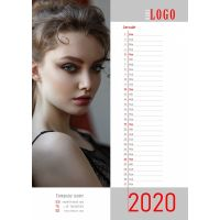 SPC Template Monatlicher Kalender 2020 N.7 Download
