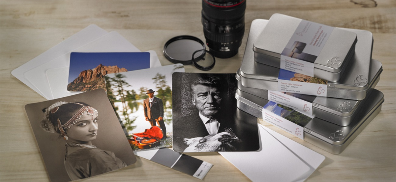 Hahnemühle FineArt Inkjet Photo Cards